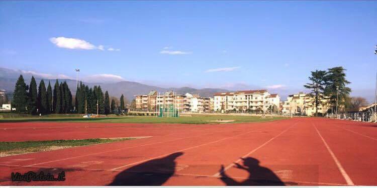 Pista atletica leggera Campo scuola di Pistoia