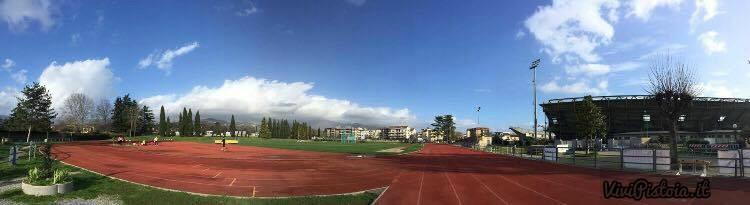 Panoramica campo scuola Pistoia