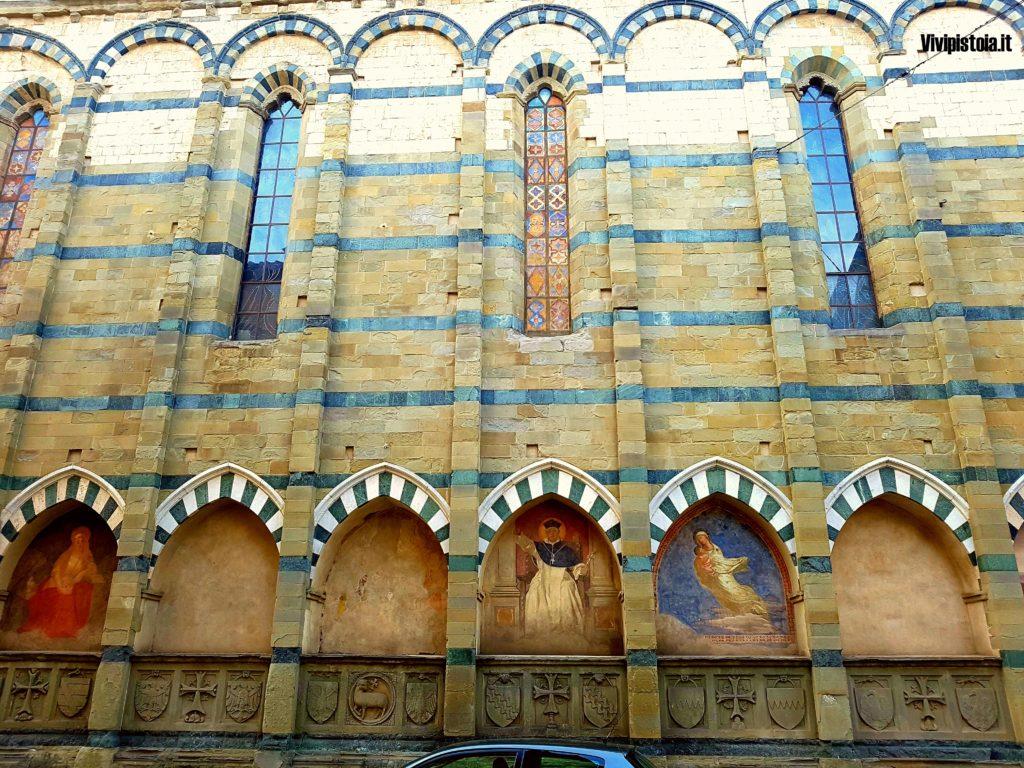 Lato della chiesa di San Paolo a Pistoia