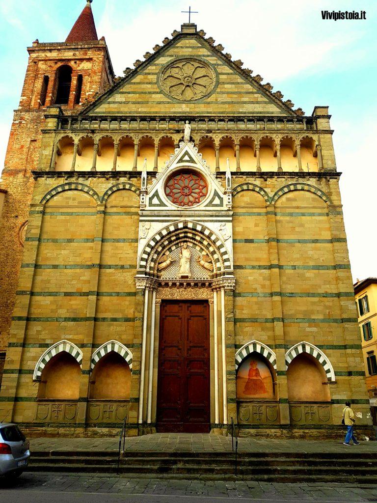 Facciata della chiesa di San Paolo a Pistoia