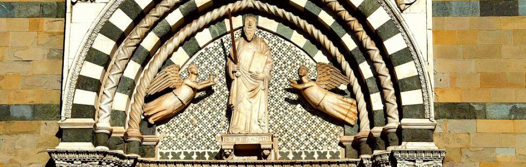 Dettaglio della chiesa di San Paolo