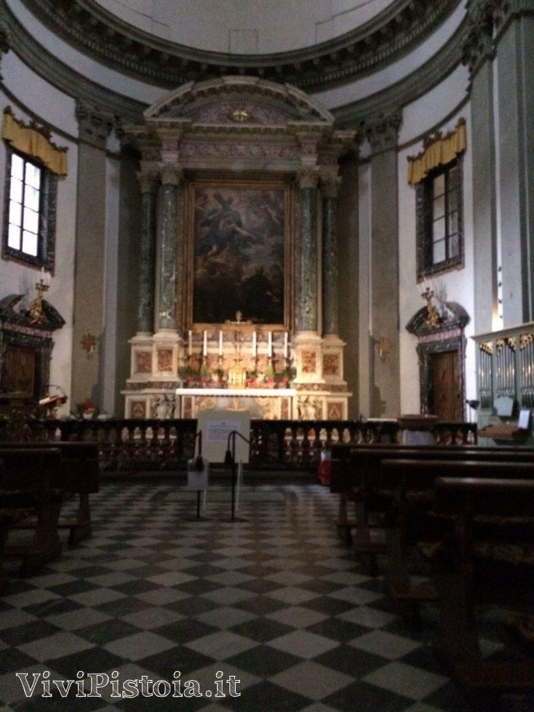 Altare maggiore chiesa Spirito Santo