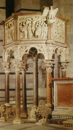 Pulpito di Giovanni Pisano