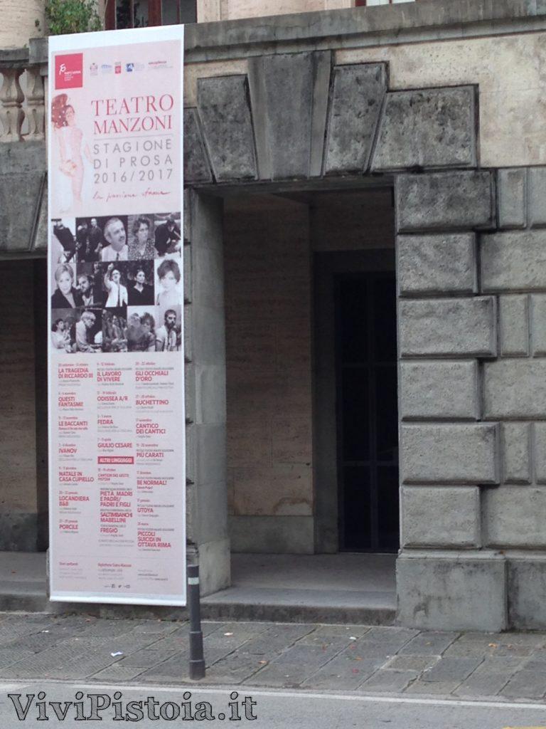 Programma del Teatro Manzoni