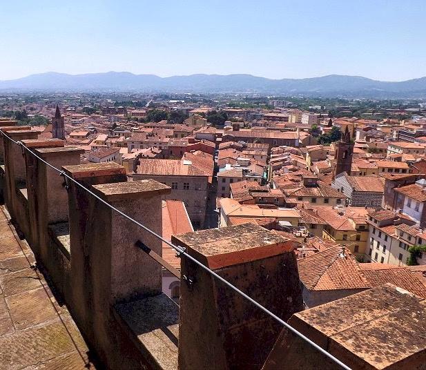 Vista dalla Torre del Campanile di San Zeno