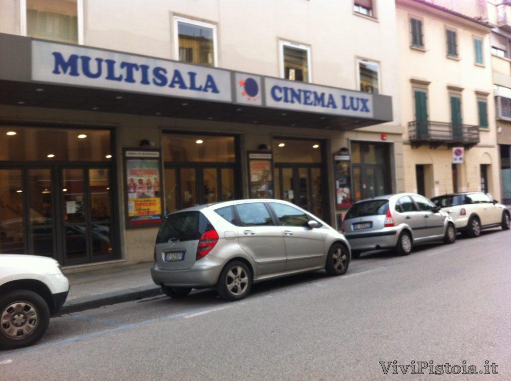 Esterno Cinema Lux Pistoia