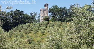Torre di Catilina nel Parco Puccini Pistoia