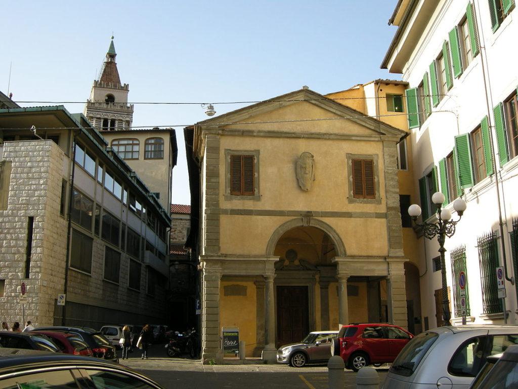 La facciata della  chiesa San Leone