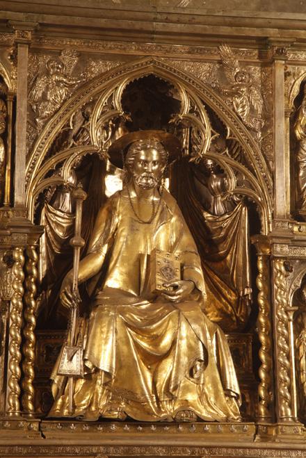 Statua di San Jacopo, Maestro Giglio Pisani