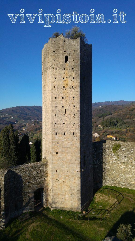 veduta torre della rocca nuova