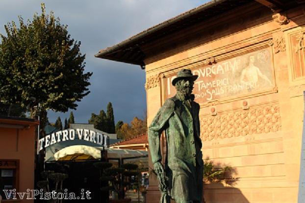 Teatro Verdi e Statua a Giuseppe Verdi
