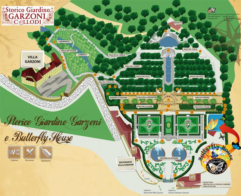 mappa del complesso